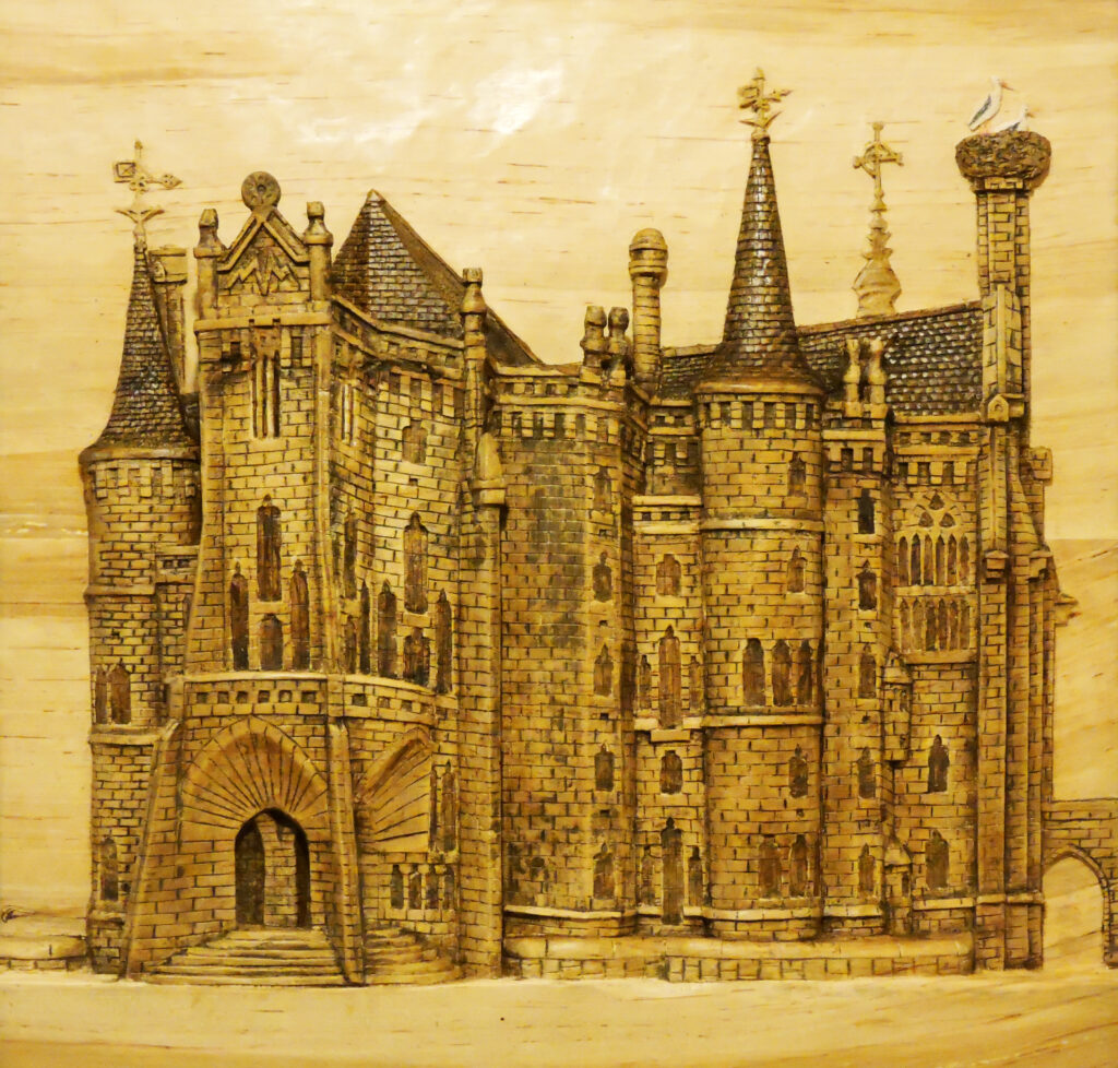 Catedral de Astorga. Alumno Escuela de Talla en madera Gubiarte