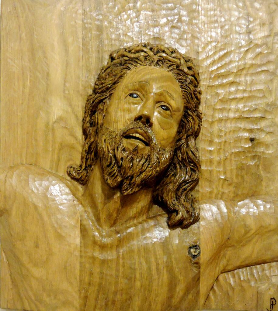 Cristo I. Alumno Escuela de Talla en madera Gubiarte