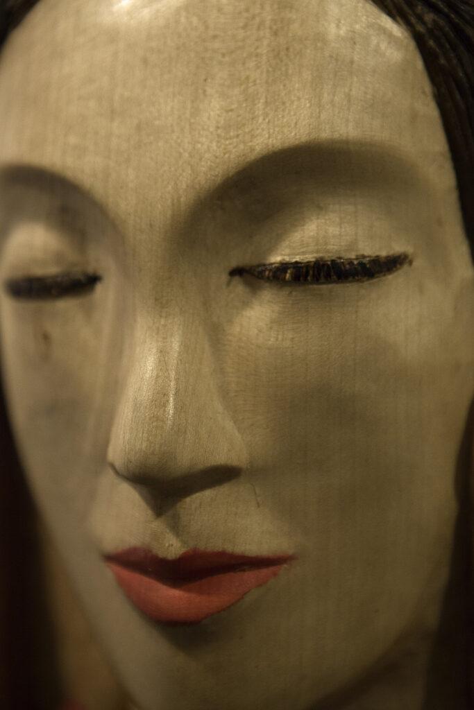 Geisha. Alumno Escuela de Talla en madera Gubiarte